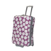 "Shiny Dots Print 27"" Hardsided Expandable Suitcase"