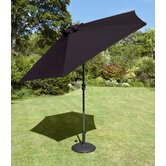 230cm Tuscany Parasol in Black