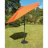 230cm Tuscany Parasol in Terra with Base