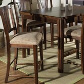 Rhythm Barstool in Medium Brown