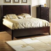 Crossroads Wingback Bed