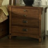 Craftsman 3 Drawers Nightstand