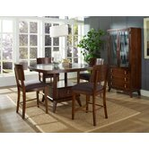Perspective 3 Piece Counter Height Dining Set