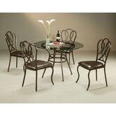 West Port 5 Piece Dining Set
