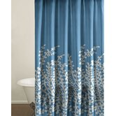 Branches Shower Curtain in Blue