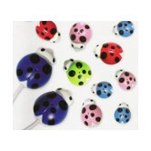 Ladybug Ear Buds