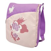 Spring Flower Sling Bag in Purple