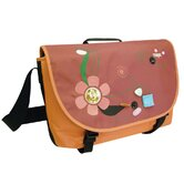 Jewel Messenger Bag in Orange