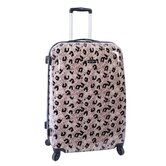 "Leopard 28"" Upright Spinner Suitcase"