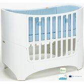 Two Piece Crib Set in White
