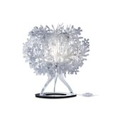 Fiorella Table Lamp in White