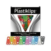 Plastic Paper Clips, Small, 1000/BX, Assorted Colors