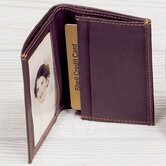 Cowhide Nappa Leather Two Fold Business Card Case III