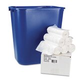 Hi-Density Can Liners, 24x31, 6 mic, Clear, 300/Carton