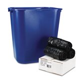 Low-Density Can Liners, 24x32, 35 mil, Black, 150/Carton