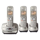 Digital Cordless Phone, Anws Sys, 3 Handset, Call/ID, CNeon/GD