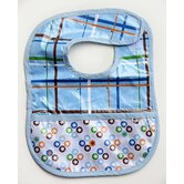 Boutique Star Dot Coated Bib