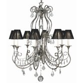 Contessa 8 Light Dining Chandelier