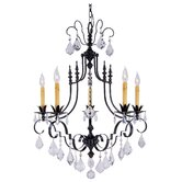 Vintage 5 Light Dining Chandelier