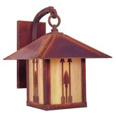 Timber Ridge Outdoor Wall Lantern with Arrow Filigree