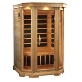 "Luxury 2 Person 75"" Carbon Sauna"