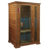 Goldenwave (Cedar) 2 Person Nano Carbon Sauna