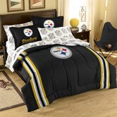 NFL Pittsburgh Steelers Bed in Bag Set