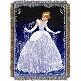 Entertainment Disney Princess - Cinderella Sparkles Tapestry Throw