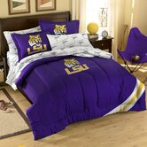 Collegiate LSU Twin / Full Comforter Set