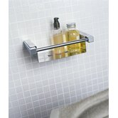 Metric 13.4&quot; x 4.7&quot; Shower Soap Dish in Polished Chrome
