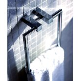 "Metric 8.2"" x 7"" Towel Ring in Polished Chrome"