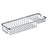 Filo 15.7&quot; x 5.5&quot; Shower Basket in Polished Chrome