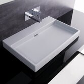 "Urban 28"" X 18"" Ceramic Bathroom Sink"