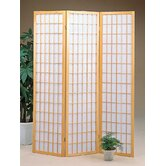 Three Panel Screen in Natural