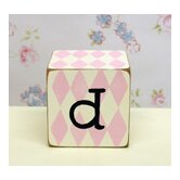 &quot;d&quot; Letter Block in Pink