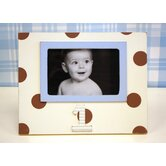 Polka Dot 1st Birthday Picture Frame