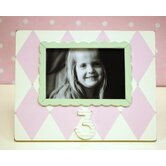 Harlequin 3rd Birthday Picture Frame