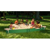 "120"" x 120"" Sandbox with Cover"