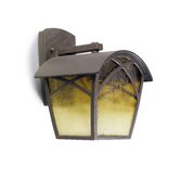 Wall Lantern in Rusted / Oxide Brown