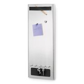 Muro Magnetic Board with Key Hooks and Magnets