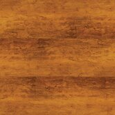 "Solidity 40 Handscraped Plank 6"" Vinyl Plank in Aged Walnut"