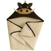 Brown Warthog Hooded Towel