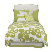 Modern Berries Duvet in Green