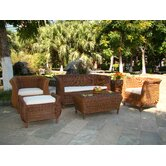 Jamaica Java Honey Outdoor Sofa Set