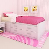 Willow Captain's Double Storage Platform Bed