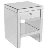 Modal 1 Drawer Bedside Table