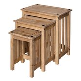 New Corona 3 Piece Stacking Table Set