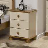 Balham 3 Drawer Bedside Table