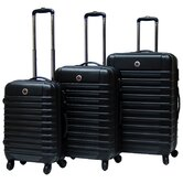 Cyprus Expandable Hardsided 3 Piece Luggage Set