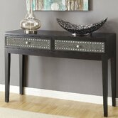 Crestview Collection Sofa & Console Tables